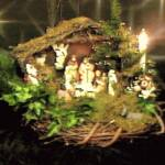 Nativity Centerpiece Display