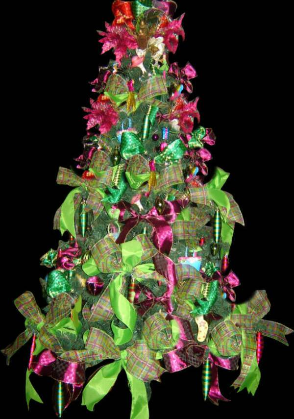 Fashion Glamour Christmas Tree