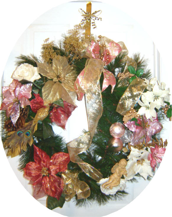 Victorian Theme Wreath