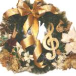 Musical Note Wreath
