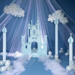 Princess Castle Party Decorating Kit Includes Items as Shown $350.00