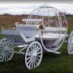 Life Size Pumpkin Coach/Carriage  ready for the horses